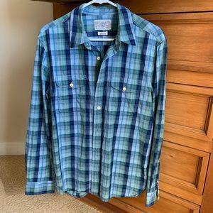 Lucky Brand men's long sleeve shirt size med